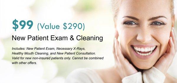 new dental patient deal