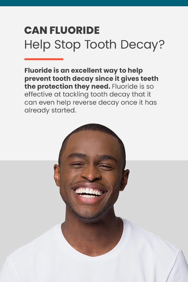 How fluoride can help stop tooth decay